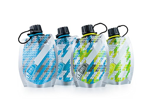 GSI Faltflaschenset 100 ml, mehrfarbig, 91345