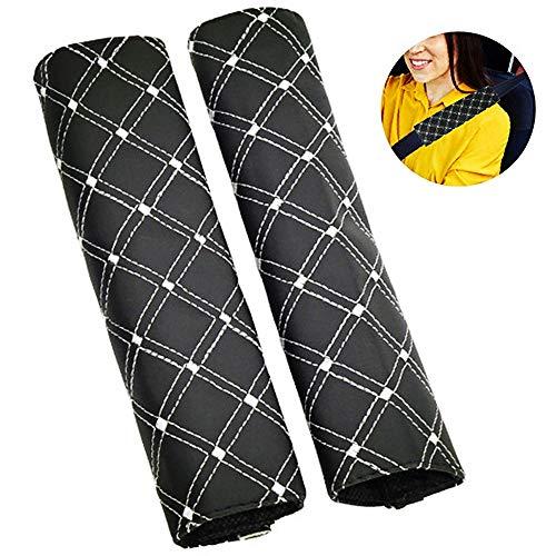 Almohadillas para Cinturón Coche Seguridad, Almohadillas Protectores de Hombro, Auto Fundas de Almohadillas Protectoras de Hombro Seat Belt Pad para Niños Bebés y Adultos