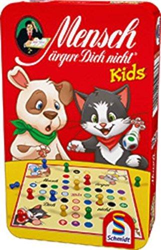 Schmidt Sp 51273 Mensch ärgere Dich Nicht Kids, Bring Mich mit Spiel in der Metalldose