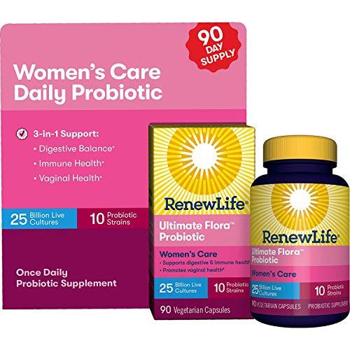Renew Life Women's Probiotic- 25 Billion - 90 Vegetable Capsules