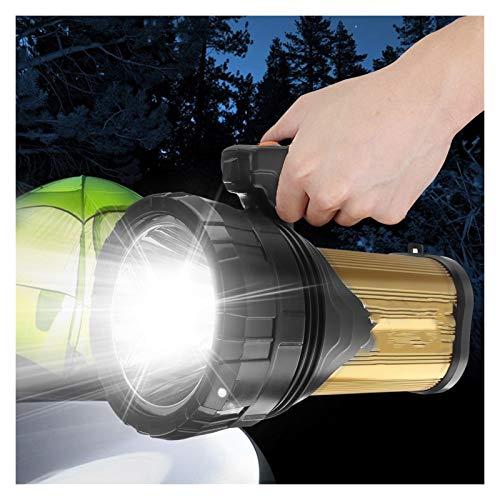 Changskj Suchscheinwerfer High Power superhellen LED-Scheinwerfer im Freien beweglichen Hand Spotlight Laterne aufladbare Taschenlampe