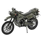 リトルアーモリー 〈LM001〉 1/12 陸自偵察オートバイ KLX250