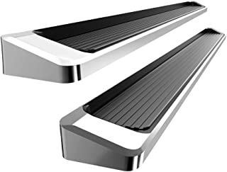APS Premium 6in iBoard Running Boards Custom Fit 07-18 Silverado Sierra Double Cab