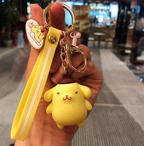 LKITYGF Perfect Key rings metal Cartoon Cute Doll KT Cat Keychains Women...