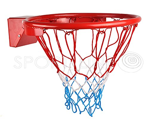 Hangring Basketballkorb Basketballring Basketball Teamsport Kinder Metall 45cm