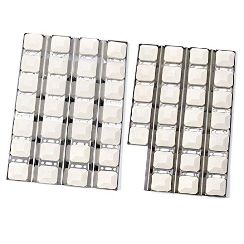 Dongftai SN255A (1-Pack) SN256A (1-Pack) Stainless Steel Heat Plate Replacement for Dynasty DBQ30F; Jenn-Air JLG7130ADS