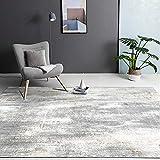 Alfombra Alfombra Fina Alfombra de Tinta Gris marrón Lavado de Agua Lavado Suave salón Alfombra baño alfombras baño 60*90cm