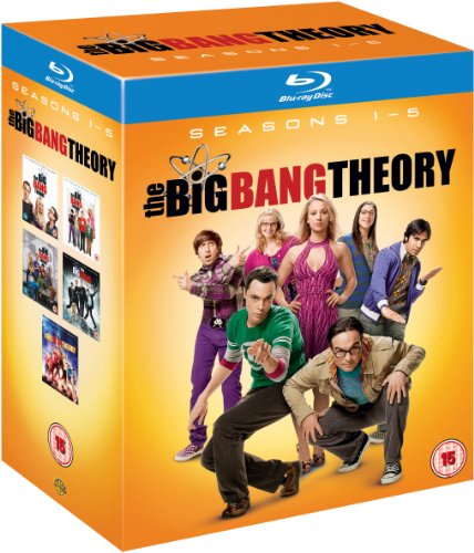 Cover Big Bang Theory Season 1-5 [10 Blu-rays] [UK Import]