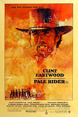 PremiumPrints - Clint Eastwood Pale Rider Movie Poster Glossy Finish Made in USA - FIL075 (24' x 36' (61cm x 91.5cm))