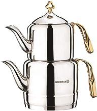 Korkmaz A212 Çintemani Tea Pot (Gold )