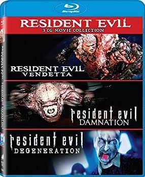 Resident Evil  Damnation / Resident Evil  Degeneration / Resident Evil  Vendetta - Set [Blu-ray]
