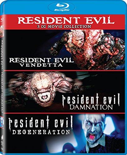 Resident Evil: Damnation / Resident Evil (3 Blu-Ray) [Edizione: Stati Uniti] [Italia] [Blu-ray]