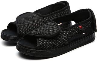 B/H Regolabili Pantofole Molto Larghe,Scarpe riabilitative per infortuni al Piede, Scarpe per pazienti diabetici,Scarpetta...