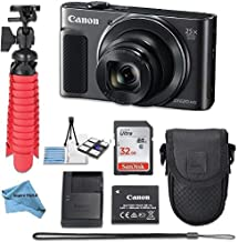 $249 » Canon Powershot SX620 (Black) Point & Shoot Digital Camera + Accessory Bundle + Inspire Digital Cloth