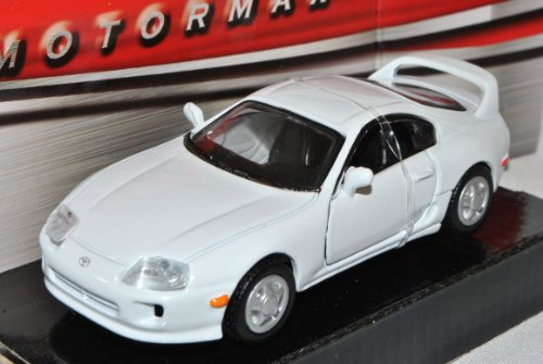 Motormax Toyota Supra MKIV Coupe Weiss 1993-2002 JZA80 1/43 Modell Auto