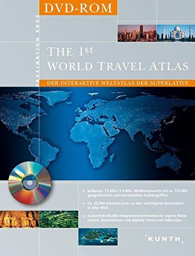 Preisvergleich Produktbild The 1st World Travel Atlas - DVD-Rom