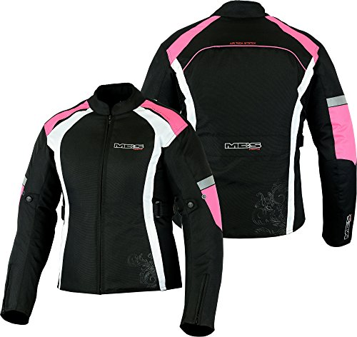 Veste de moto MBSmoto MJ-24, pour femme - Imperméable et coupe-vent