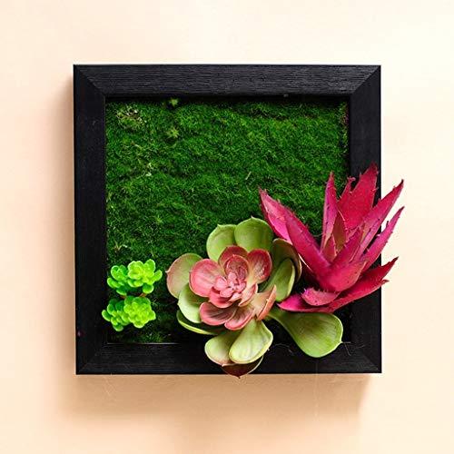Desktop-Skulptur Kreative Pflanzen Wanddekorationen Wand Wohnzimmer Esszimmer Wanddekorationen Anhänger Gemälde Bilderrahmen (Color : B)
