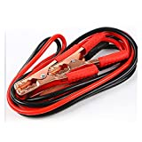 XIAOJIE Partes de Inicio 13 pies 500AMP Booster Jumper Cable Emergencia Power Start Cable Emergencia Power Power Charging Jump Start Places Coche (Color : Red Black)