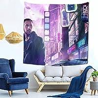 映画 ブレードランナー Blade Runner タペストリー 装飾 ポスター 装飾 アート 壁布 吊り飾り 大判 多機能 リビング ルーム 寝室 ショップ ウィンドウ パーソナリティー ギフト 新規 お祝い 150x150cm