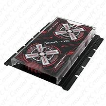 Evercool HD-CW Cool Wheel Hard Drive Cooler (Black Cover, Red Fan) SKU: HD-CW