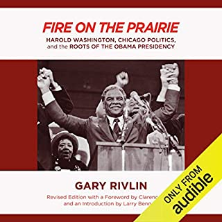 Fire on the Prairie audiobook cover art