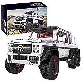 HYMAN Juego de construcción para vehículos todoterreno, 3686 piezas, Custom 6 x 6 SUV, mando a distancia, para camión King 13061 con motores, compatible con Lego Technic