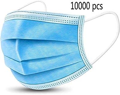 Mydent MK-7300 Level 3 Dual Fit Ear-Loop Face Masks (Pack of 50), 50, Blue