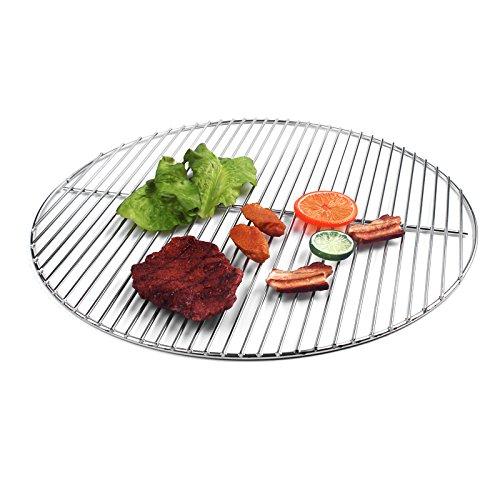 Weber 47 Grille de barbecue ronde en acier inoxydable 44,5 cm