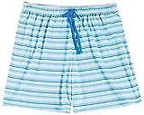 Goodnight Kiss Womens Plus Striped Pajama Boxer Shorts 2X Stripe multi