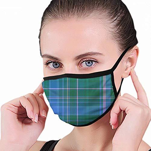 Mond masker, geruite stof achtergrond voedsel en drinken mondhoezen, warm houden in koud voor mannen vrouwen-8OZ-Y25
