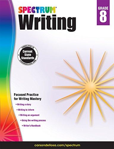 Spectrum Writing, Grade 8