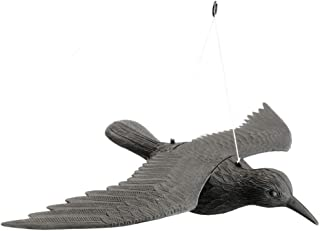 comprar comparacion PrimeMatik - Ahuyentador de Aves Tipo Estatua Cuervo Volador 58x42 cm
