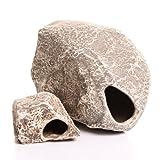 Underwater Galleries AUG6551 2-Pack Cichlid Stone