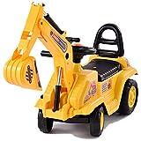 papasbox Kids Ride On Construction Bulldozer,...