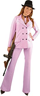Women's Gangster Moll Suit Costume, Size X-Large 18-22, Color Red