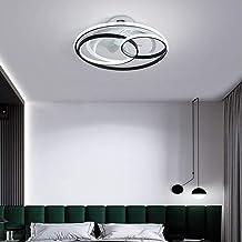 XXCC Plafondventilator, met afstandsbediening, verstelbaar, windsnelheid, woonkamer, slaapkamer, ventilator, decoratieve v...