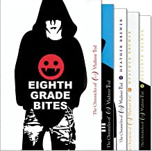 The Chronicles of Vladimir Tod Collection 5 Book Set Includes: Eighth Grade Bites, Ninth Grade Slays, Tenth Grade Bleeds, ...