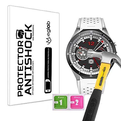Protector de Pantalla Anti-Shock Anti-Golpe Anti-arañazos Compatible con Kingwear KW88 Pro