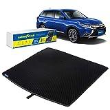 Goodyear Alfombrilla protectora para maletero de Mitsubishi Outlander 14 – 20 Auto alfombras, accesorios de coche, alfombrillas y alfombras shwartz