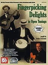 Fingerpicking Delights in Open Tunings Book/3-CD Set (Stefan Grossman's Guitar Workshop Audio)