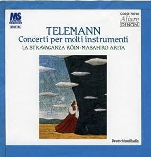 テレマン:様々な楽器のための協奏曲集