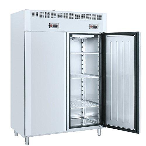 Macfrin 7535 Armario Dual Conservador-Congelador GN21 140X80 de 2 Puertas