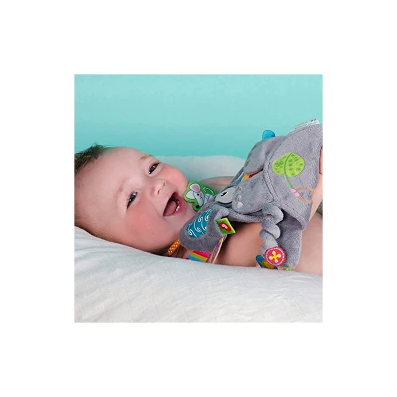crib bedding and baby bedding label label friends gerry giraffe silky comfort mini grasp and soothe taggie blanket