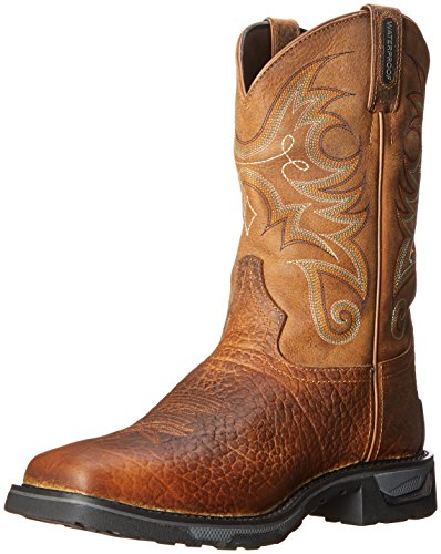 Tony Lama Men's Water Buffalo Western Boot, Sierra, 10 EE US