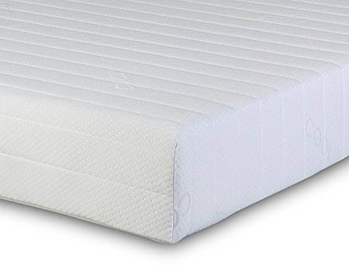 Starlight Beds - Single Mattress Single Memory Foam Mattress. 5 Zone Single Mattress With Knitted Cool Touch Micro Quilted Sleeping Surface. Fast, (3ft x 6ft3 Single Mattress)(90cm x 190cm)