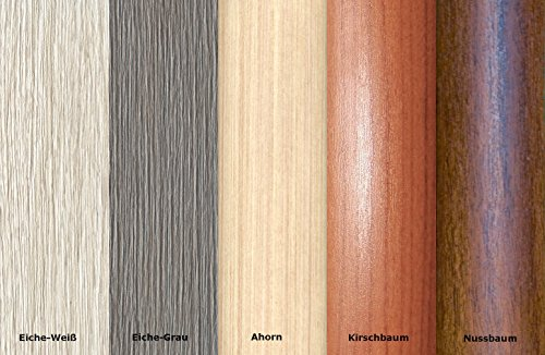 16,66€/m Übergangsprofil Anpassungsprofil Ausgleichsprofil 40mm Holzdekor Eiche grau(C01)
