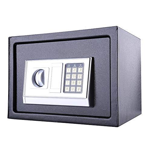 Caja de seguridad electrónica, teclado digital valor seguro con puerta delantera de 4 mm a la joyería Key Cash 25EA