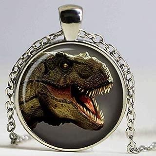 Gold Kyoidy Dinosaurier Skelett Anh/änger Halskette Schmuck f/ür Frauen