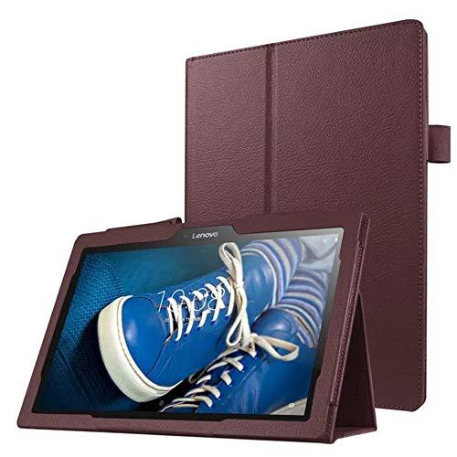 Lobwerk Schutzhulle fur Lenovo Tab 3 10 Business A10 70F TB3 X70 FL Plus 101 Zoll Smart Slim Case Book Cover Stand Flip Braun NEU
